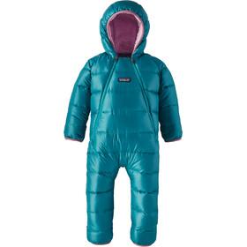 """Patagonia Baby Hi-Loft Down Sweater Bunting Elwha Blue"""